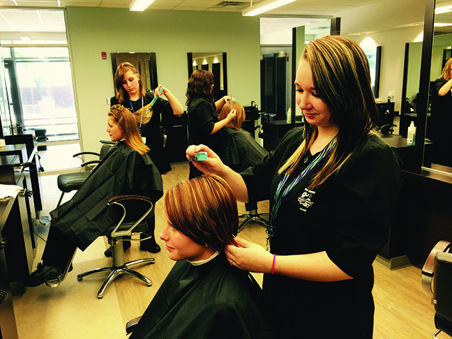 Cosmetology Services Storefront Tri Rivers Career Center Center