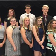 NTHS Spring Inductees