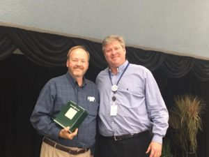 Larry Hickman, 15 years of Service