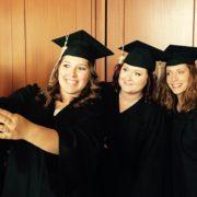Tri-Rivers Nursing Graduates take a selfie