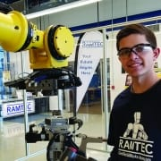 Tri-Rivers is a TechCred training provider. Photo taken in RAMTEC