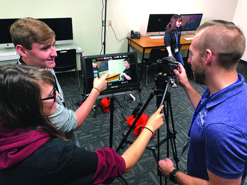 Interactive Media filming