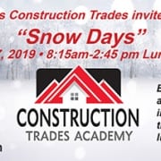 Snow Days Invite for Construction